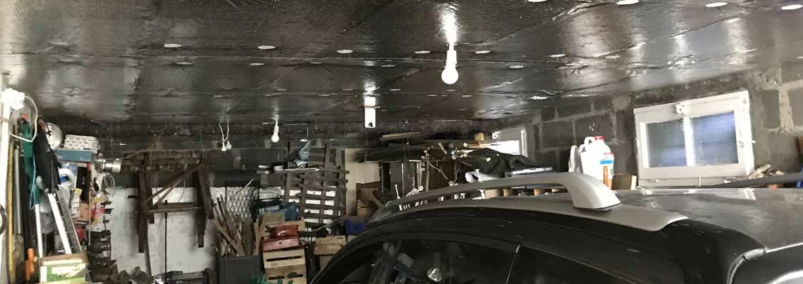 Isolation de garage en Eure et Loir 28