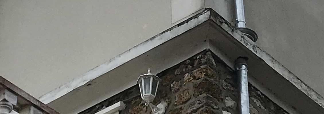 Remplacement de gouttieres en zinc -91 Essonne