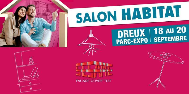 Groupe Sesame au salon de l'habitat 2020 à Dreux
