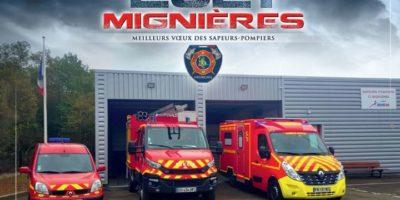 Image de la caserne de Mignières 2021